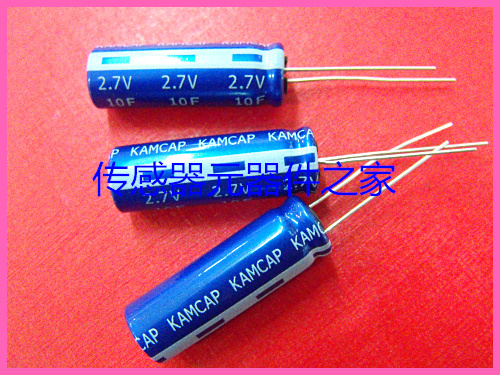 2pcs New and original <font><b>Super</b></font> <font><b>Capacitor</b></font> <font><b>2.7V</b></font> <font><b>100F</b></font> free shipping Farad <font><b>Capacitor</b></font> ,Supercapacitor image