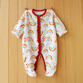2017 New Fresh baby rompers cotton 100% girls clothes long sleeve romper Baby Jumpsuit newborn baby Clothing Packed feet romper