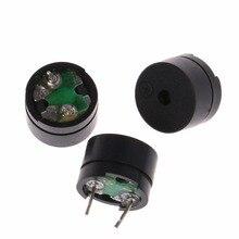 10 шт. 2Pin пассивные электронные зуммер 12X8.5 мм 12085 16ohm сопротивление 3/5/9/ 12 В Акустические компоненты