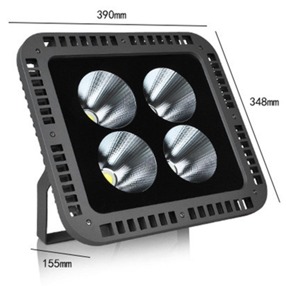 Led Flood Light 100W 200W 300W 400W IP65 Waterproof COB Spotlight Outdoor Floodlights Lamp Led Reflector Ultrathin AC85 265V