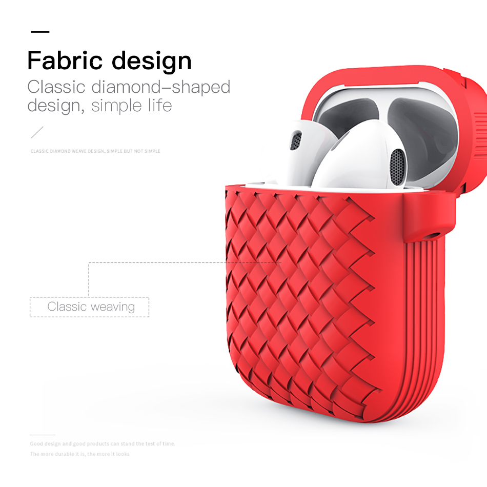 !ACCEZZ Bluetooth Wireless Earphone Case For Apple Airpods Accessory Wireless Headphones Accessories Portable With Charging Box (3)