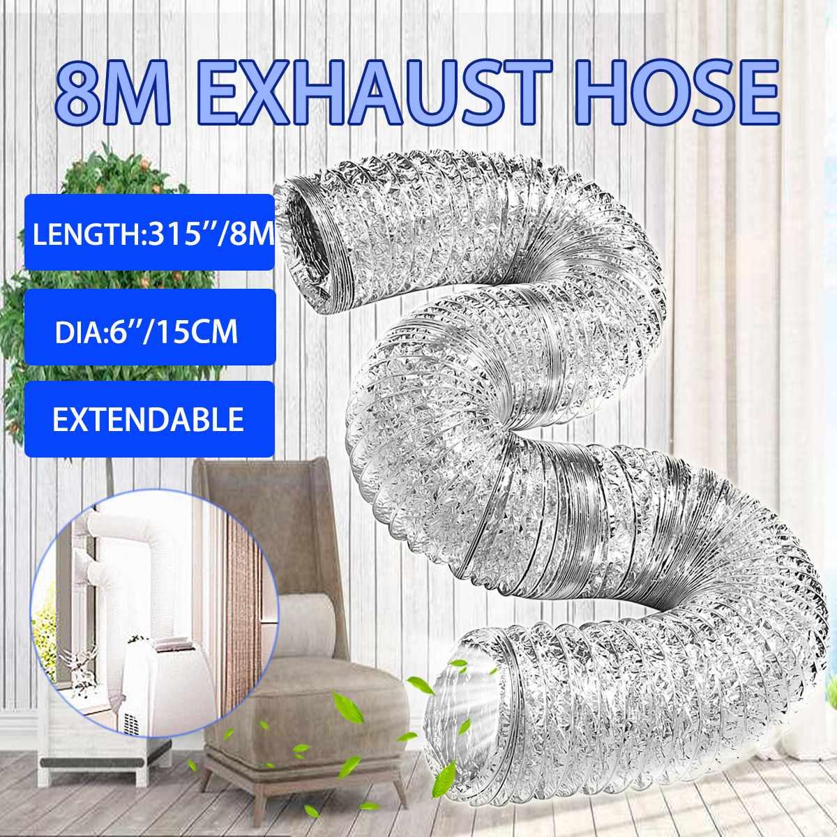 US $13.15 41% OFF|1pcs 2019 8M Flexible Exhaust Hose Tube Mobile Air on