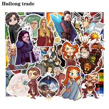 100 pcs Rights Game Cartoon Characters Waterproof sticker Graffiti sticker DIY Creative Collage Refrigerator Decorative sticker цена