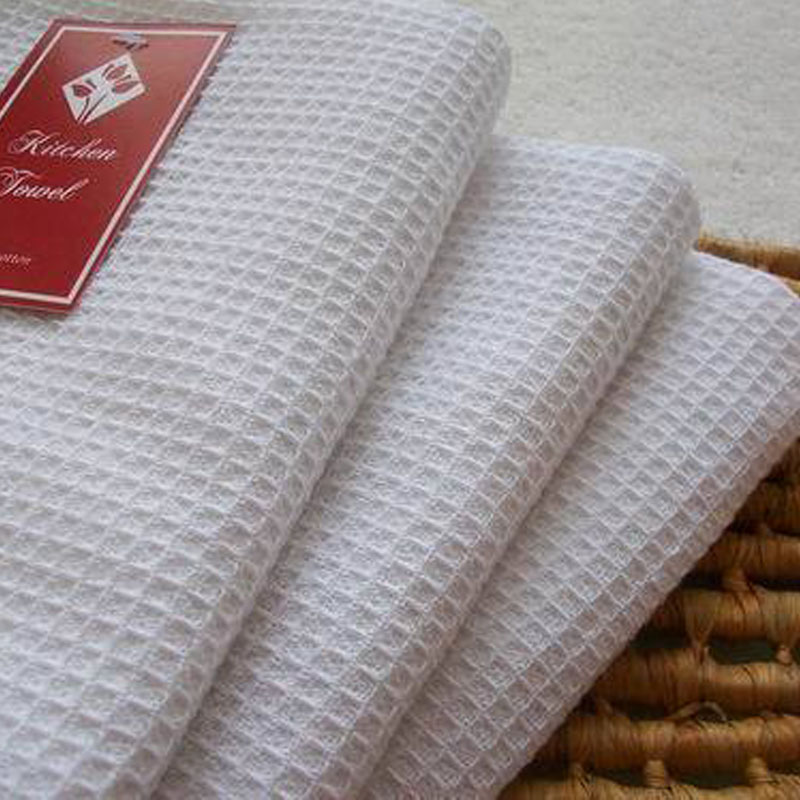 High Quality Waffle Kitchen Towel Cotton Dining Table Mat