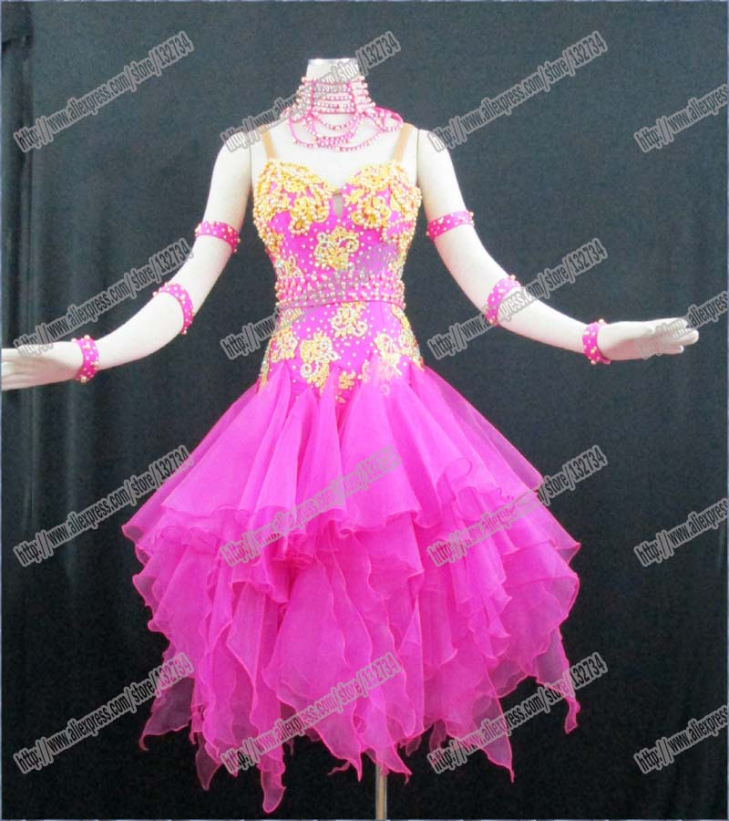 Women Dance Wear,Girls Fringe Latin Dress,Salsa Dress Tango Samba Rumba Chacha Dress,Dance Latin dress
