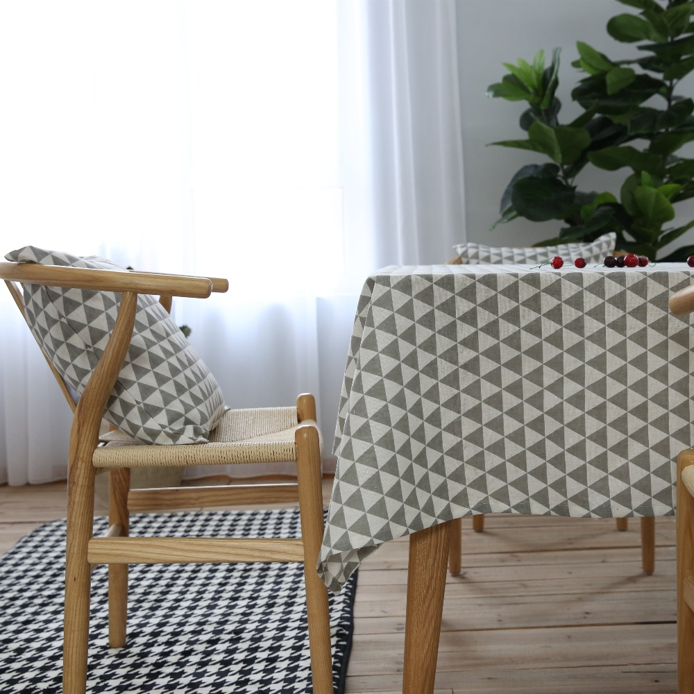 Order: 1 Piece. Tablecloth Cotton Linen Rural Square Tablecloths  Rectangular Dinner Table Cover Table Cloth Coffee Table Tea Table