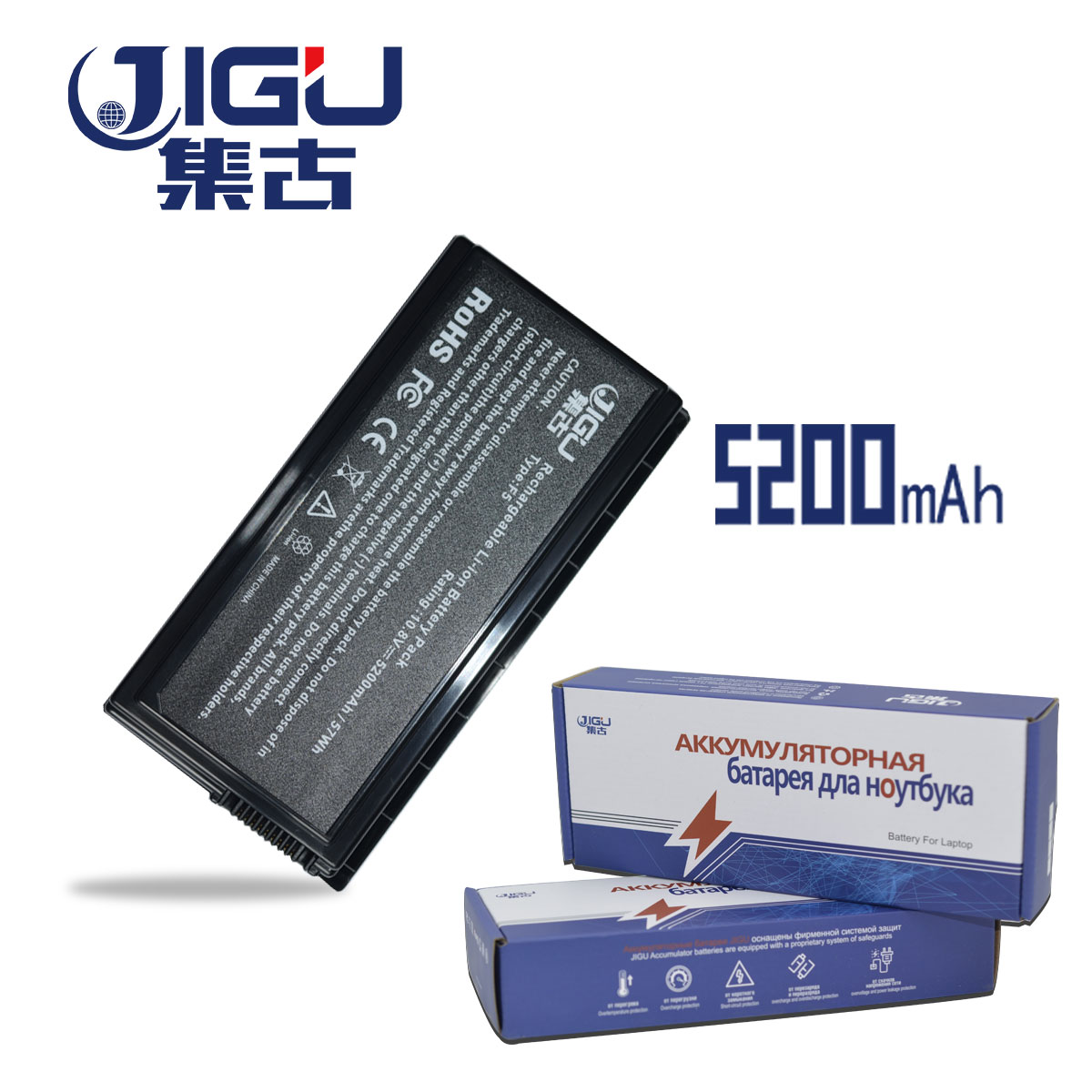 JIGU High Capcity New Laptop Battery For ASUS X59 X59G X59GL X59S X59SL X59SR A32-F5JIGU High Capcity New Laptop Battery For ASUS X59 X59G X59GL X59S X59SL X59SR A32-F5