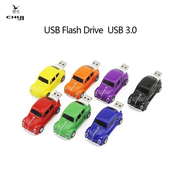 CHYI Hot Новая Мода Автомобиль Форма USB 3.0 Flash Drive USB Stick Pen Drive Memory Stick Pendrive 8 ГБ 16 ГБ 32 ГБ 64 ГБ для PC Компьютер