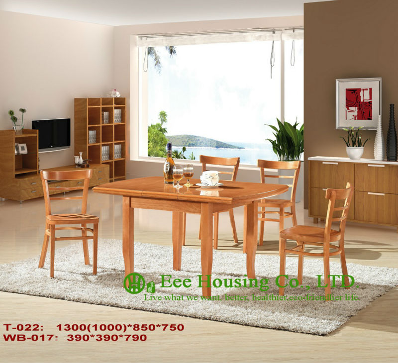 T-022,WB-018 Luxurious Solid Dining Chair,Solid Wood Dinning Table Furniture With Chairs/Home Furniture