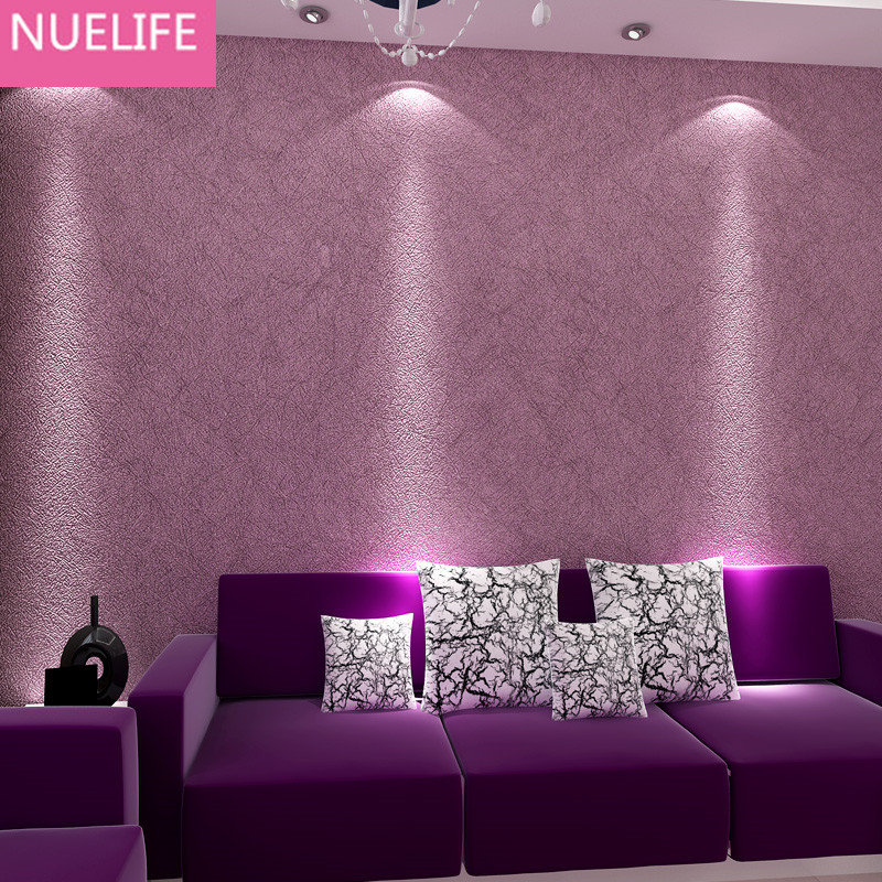 0.53x9.5 Meter Modern Style Wallpaper Kitchens Living Room Bedroom Living  Room Yellow Purple