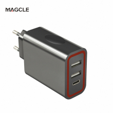 Magcle Type c wall charger 5V/3A Mobile Phone Charger 2-in-1 Universal Wall Charger USB Type C Travel Charger for smart phone