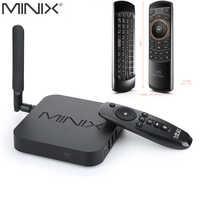 MINIX NEO U9-H + versión rusa Rii mini i25 de 64-bit Octa-Core Hub de medios Android 2 GB/16 GB Dispositivo de TV inteligente con entrada de voz Mouse de aire