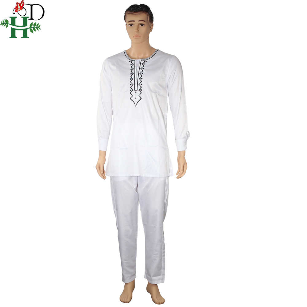 3195f91bb3 no cap african clothes men dashiki father son boy kids suits tops shirt  pant 3 pieces set embroidery white african mens clothing