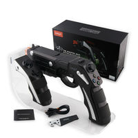 Free Shipping New Model IPEGA PG 9057 Gun Style Wireless Bluetooth Gamepad Game Controller for iOS Android PC shooting game