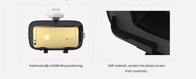 Xiaozhai BOBOVR Z4 3D VR Glasses Virtual Reality Headset Cardboard Oculus Rift Gear VR Vive Box  for iPhone HTC 4.7~5.56 Smartphone (26)