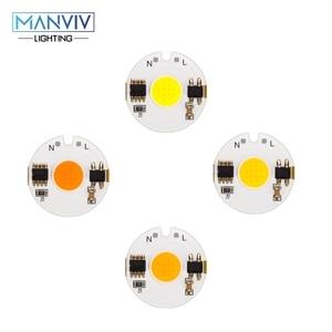 Image 1 - LED COB שבב מנורת 12W 9W 7W 5W 3W 220V חכם IC גבוהה בהירות נהג Fit DIY עבור זרקור הארה קר לבן חם לבן