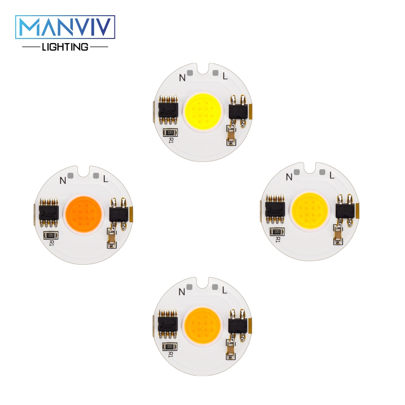 LED COB Chip Lamp 12W 9W 7W 5W 3W 220V Smart IC High Brightness Driver Fit DIY For Spotlight Floodlight Cold White Warm White-in Light Beads from Lights & Lighting