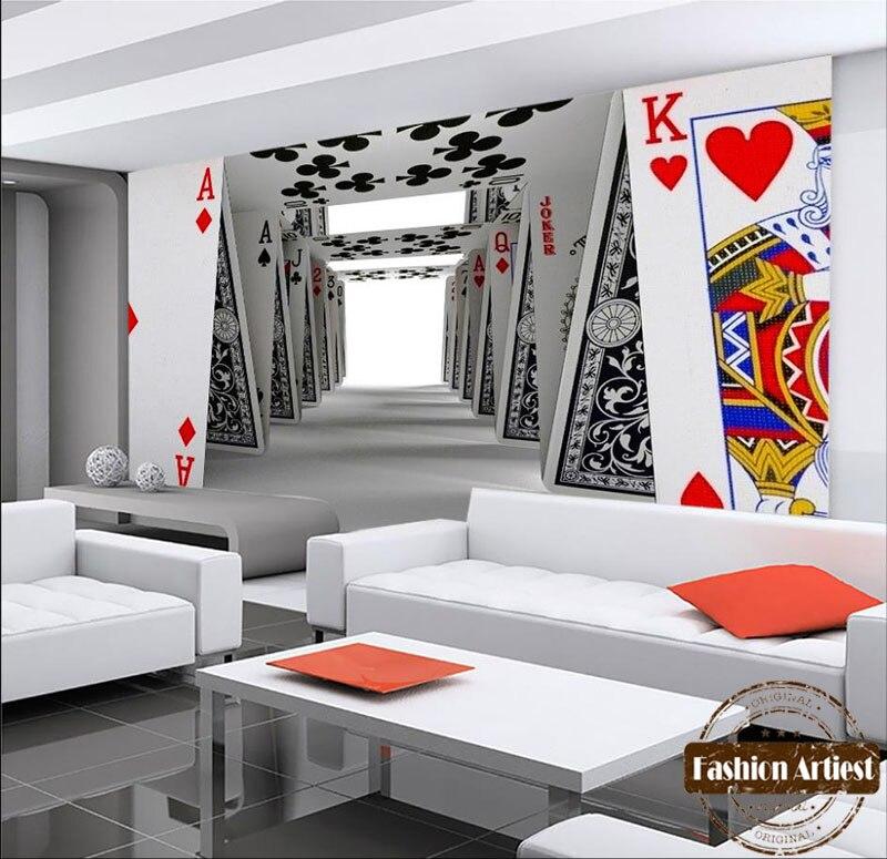 Custom Modern Wallpaper Mural Domino Wall Art Building Tv Sofa Bedroom Living Room Cafe Bar Restaurant Background In Wallpapers From Home