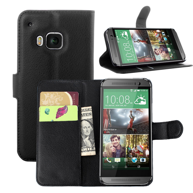 for HTC One M9 Case M9W Hima 0PJA10 Wallet Card Stent