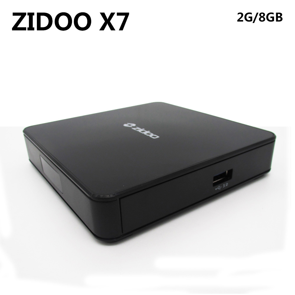 ZIDOO X7 Android 7.1 TV BOX RK3328 Quad Core 2GB 8GB Smart Media Player 2.4G/5G WIFI Bluetooth 4.1 USB 3.0 HDR 4K 3D Set Top Box himedia m3 quad core android tv box home tv network player 3d 4k uhd set top box free shipping