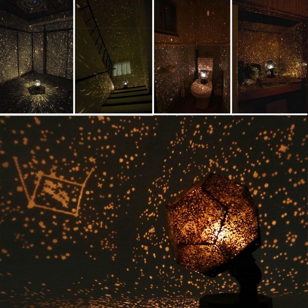 Romantische Astro Projektion Cosmos Nachtlampe Sternenklare Nacht Schlafzimmer Projektorlampe Gadgets Party Star Sky Dekoration Beleuchtung