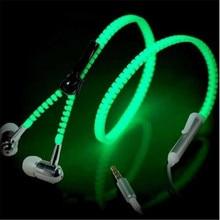 Night Luminous Earphones with Microphone
