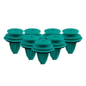 Image 5 - 25 Pcs Auto Fastener Hole Door Trim Panel Plastic Clips Rivets Retainer for Toyota 90467 10188 Car Fender Bumper Car Styling