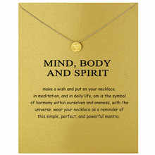 Brilliant Active Seal Number 30 Necklace For Female Gold Color Pearl Card Alloy Choker Engagement Jewelry