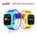 Sos gps smart watch q70 q90 bebê assistir com wi-fi chamada Local Rastreador Monitor de Dispositivos de Segurança Anti Perdido Relógio de Pulso Crianças Smartwatch
