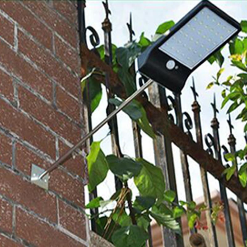 Led Solar Light Outdoor Waterproof Solar Lamp PIR Motion Sensor Solar Power Rechargeable Solar Garden Light Street Light (7)