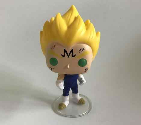 Anime Dragon Ball Z Super Saiyan VEGETA keychain sero Vinyl Action Figure Coleção Modelo Brinquedos para Crianças presente de Aniversário