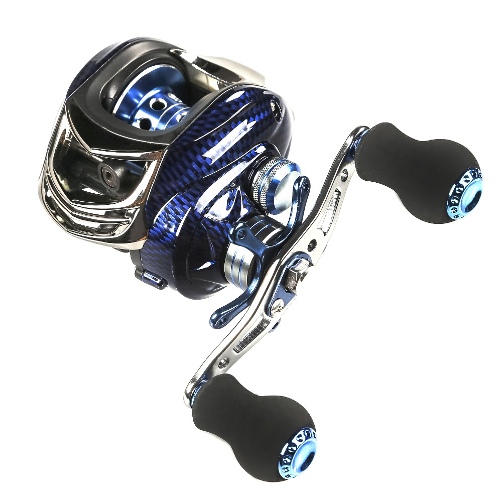 14+1BB Casting Reel Outdoor Fishing Weel 6.3:1 Ball Bearings Left / Right Hand Baitcasting Max Drag 5kg Carretilha Para Pesca