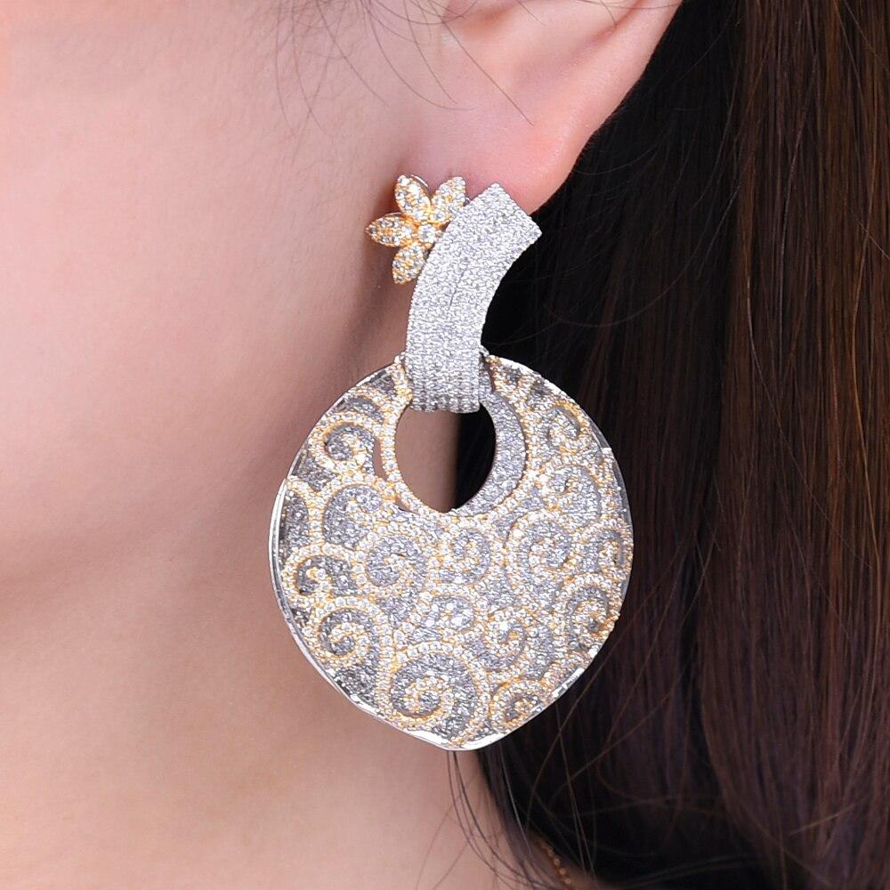 Boucles d'oreilles missvikki pour femmes Boho Mini boucle d'oreille ronde en cristal pendentif Vintage nouveaux bijoux accessoires de mode