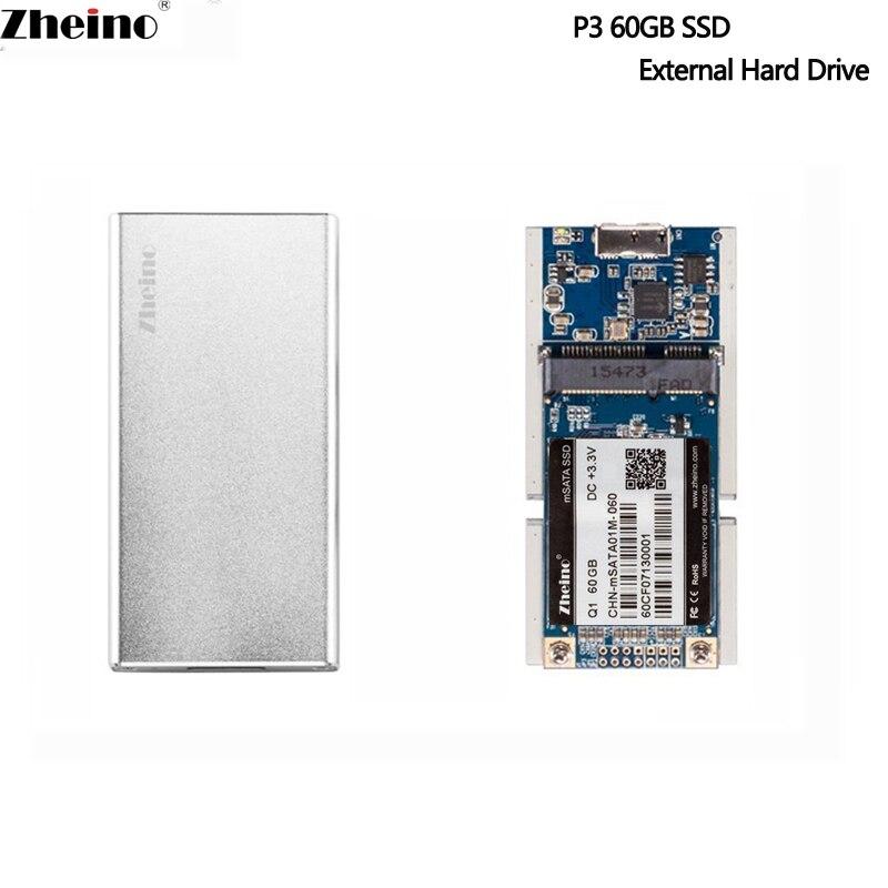 Zheino Externe Disque Dur 120 gb 240 gb 480 gb 128 gb 256 gb 512 gb SSD Disque Dur Externe boîtier en aluminium Pour Ordinateur Portable De Bureau