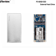 ZheinoUSB3.0 120 gb 240 gb 480 gb Mini Tragbare SSD Externe Festplatte Aluminium Fall Super Speed mSATA SSD Für PC Laptop Desktop(China)