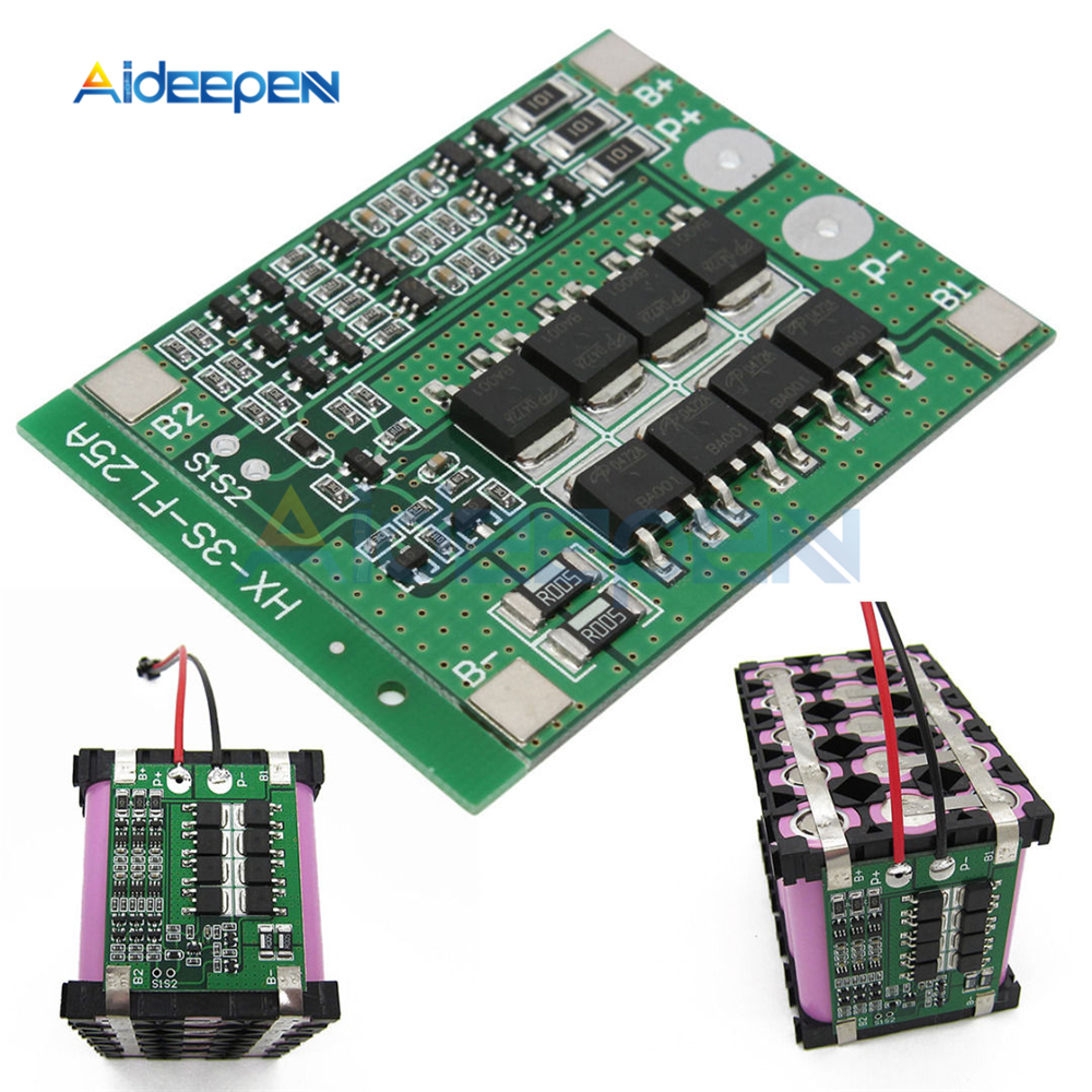 3S Li-Ion 18650 BMS PCM Batterie Schutz Bord mit Balance Funktion 25A für li-ion Lipo Batterie Zelle Pack Modul