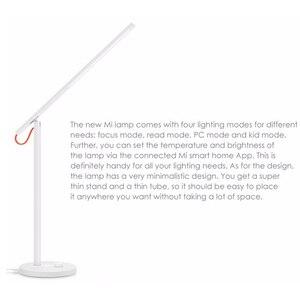 Image 5 - Stokta Xiaomi Akıllı LED Masa Lambası Karartma Okuma Işığı WiFi Desklight masa lambası 4 Aydınlatma Modları App Kontrolü Telefon App