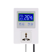 New Digital Intelligent Temperature Controller Pre-wired thermal regulator with Sensor Thermostat Heating Cooling Control Switch shenzhen pitt river k81 with a password cooling or heating universal thermostat