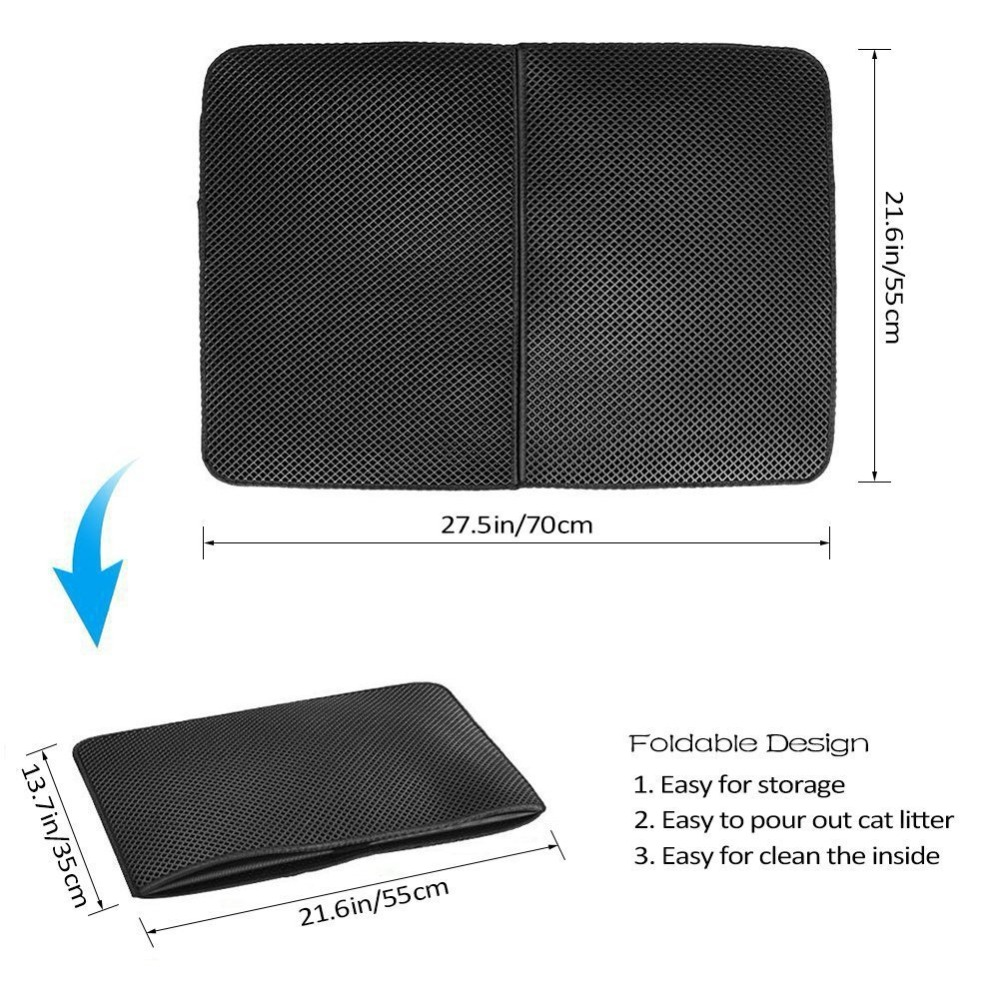 Waterproof Litter Catching Mat For All Floor Types Amp Cat