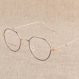 Image 3 - Hotony Prescription Eyeglasses Optical Spectacle Glasses Frame with 6 Optional Colors Free Assembly with Optical Lenses D818