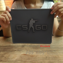 Hot Sale 250*300*2MM Gaming Mouse Pad Overlock Cloth Rubber Mousemat Nom-slip Optical Speed Mice Mat For CS GO Mousepad