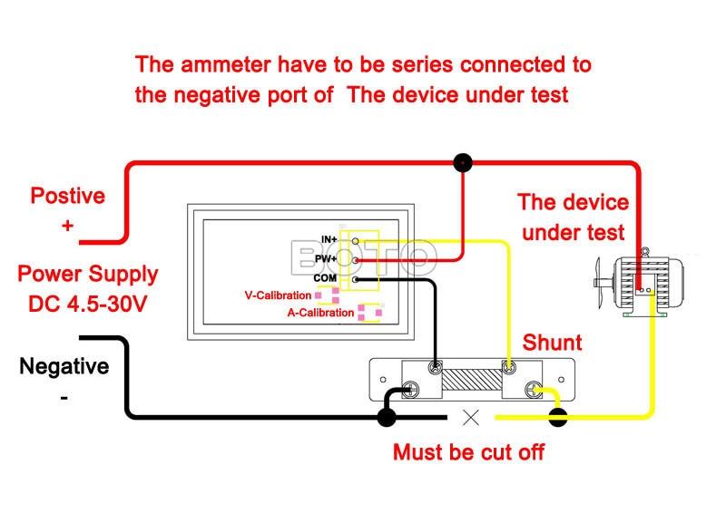 volt amp meter wiring diagram for led wire data schema u2022 rh lemise co