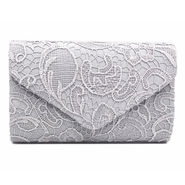 IVI Lace Fashion Women Trand Vintage Envelope Lady Hand bag PU Envelope Bag Women's Day Clutch Elegant women handbags