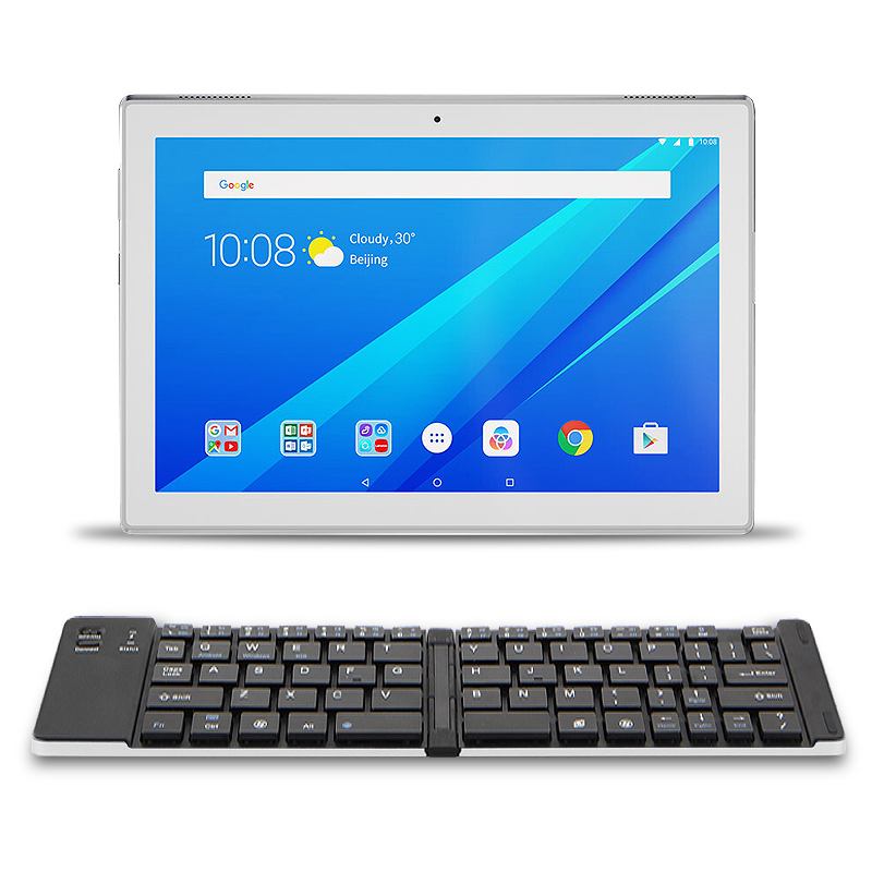 Two folded Bluetooth Keyboard For Lenovo MIIX 310 320 325 Miix320 10.1Tablet Wireless keyboard Miix310 210 miix325 miix 320 Case планшетный компьютер windows lenovo ideapad miix 310 10icr 80sg00a9rk