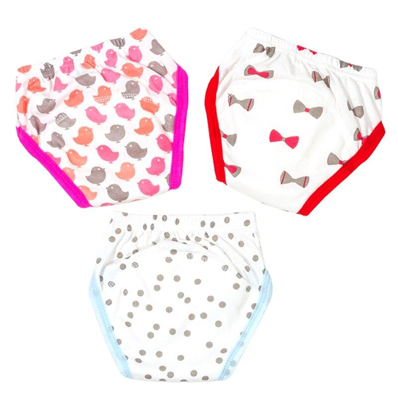 Hilenhug 3 Unids / lote Pantalones de entrenamiento para bebé - Pañales y entrenamiento para ir al baño