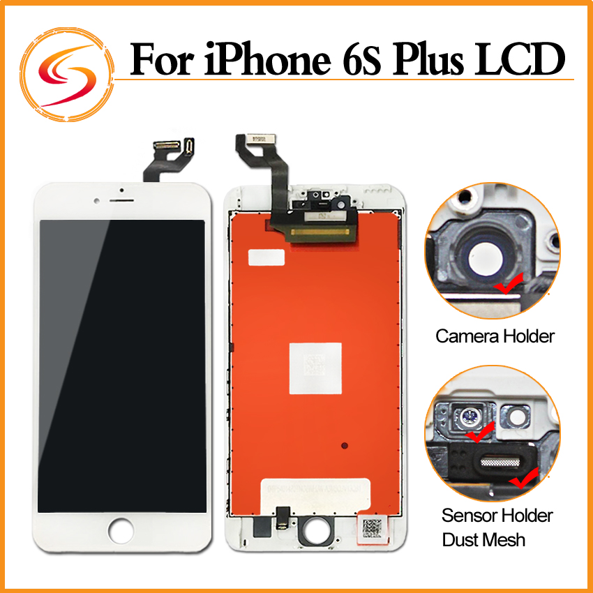 Prix pour Grade AAA + + + 10 PCS/LOT Pour Iphone 6s Plus LCD Avec 3D Force Écran Tactile Digitizer Assemblée 5.5 Pouce Affichage Remplacement