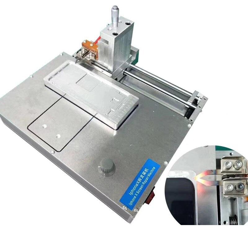 Quadro do meio Separador Máquina De Corte Para o iphone X Xs Xs Max XR Desmontar Tela de LCD Bezel Quadro Máquina de Remoção Com moldes