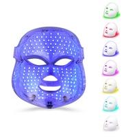 7 Color LED Colorful Facial Masks Household Red Blue Light Removal Acne Mark Skin Care Photon Rejuvenation Beauty Instrument