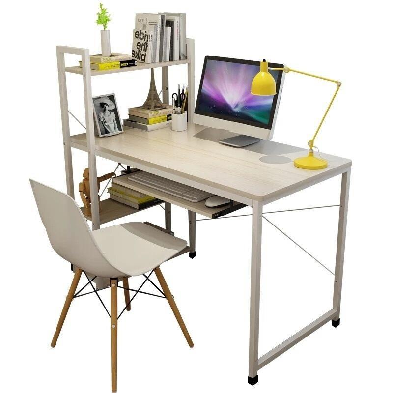 Simple Modern Office Desk Portable Computer Desk Home: Computer Desktop Home Simple Modern Office Writing Desk-in