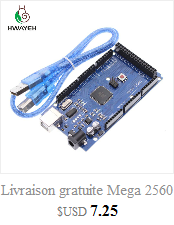 HWAYEH high quality One set UNO R3 CH340G+MEGA328P Chip 16Mhz For Arduino UNO R3 Development board + USB CABLE 7